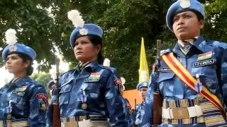 Download Indian Formed Police Unit-1 last UN Medal ceremony in Liberia Video