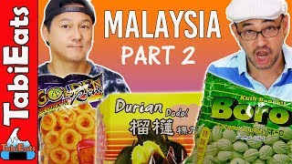 Download Trying Food and Snacks from MALAYSIA Part 2 Video