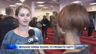 Download Video: Toronto mosque holds open house after anti-Islam protest Video