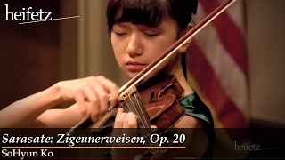 Download HeifetzPEG 2018 | SoHyun Ko, 12: Sarasate: Zigeunerweisen, Op. 20 Video
