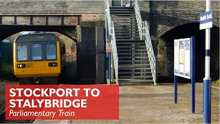 Download Stockport to Stalybridge - Parliamentary Train Video