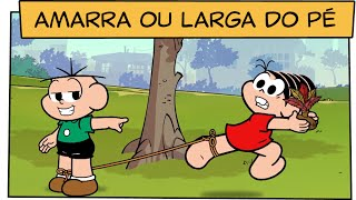 Download Amarra ou larga do pé, Cebolinha! | Turma da Mônica Video