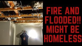 Download UNBELIEVABLE CRIB CATCHES FIRE AND FLOODS MIGHT HOMELESS!! Video