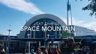 Download Space Mountain Exit Refurbishment - June 11th, 2018 Video