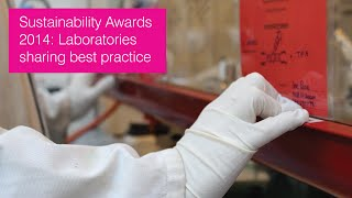 Download Sustainability Awards 2014: Laboratories 'sharing best practice' Video
