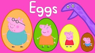 Download Peppa Pig - Surprise Eggs! Counting for Kids 1, 2 3 - Learning with Peppa Pig Video