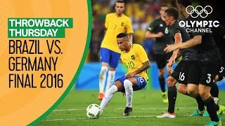 Download Brazil vs Germany - FULL match - Men's Football Final Rio 2016 |Throwback Thursday Video