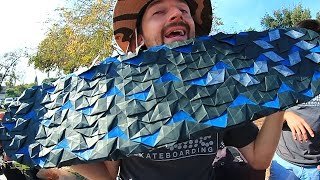 Download AWESOME ORIGAMI GRIP TAPE | YOU MAKE IT WE SKATE IT EP 60 Video