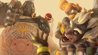 Download Roadhog and Junkrat Play Overwatch Together Video
