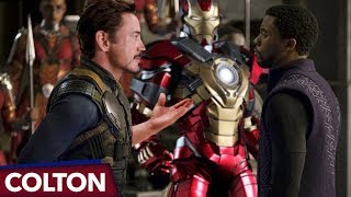 Download Is Tony's new Iron Man suit made of Vibranium in Avengers Infinity War? Video