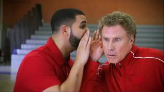 Download Drake and Will Ferrell Handshake Lessons - NBA Awards 2017 | NBA on TNT Video