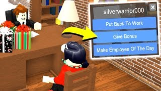 Download FIRING PEOPLE AS MANAGER! (Roblox Work At A Pizza Place) Video