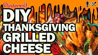 Download DIY ThanksGiving Grilled Cheese - Man Vs Din #6 Video