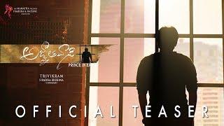Download Agnyaathavaasi Official Teaser | Pawan Kalyan | Trivikram | Anirudh Video