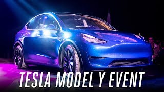 Download Tesla Model Y event in 3 minutes Video