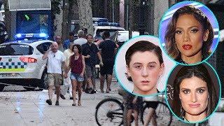 Download Celebs React & Send Love After Barcelona Terror Attack Video