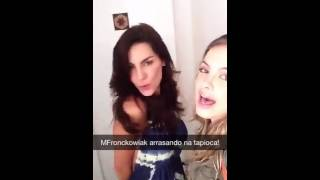 Download Lua Blanco mostra reencontro com mel fronckowiak no snapchat de CARAS Brasil Video