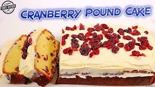 Download Cranberry Pound Cake - How to Christmas Dessert Recipe Video