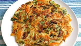 Download Vegetable Pancake (Yachaejeon: 야채전) Video