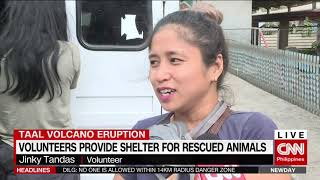 Download Volunteers provide shelter for rescued animals Video