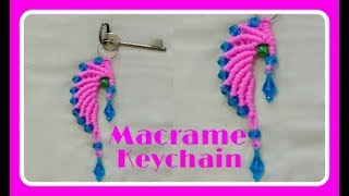 Download Simple Macrame Keychain Video