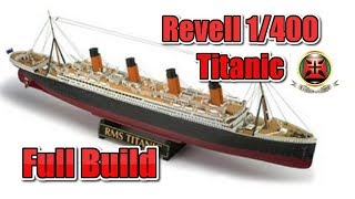 Download REVELL 1/400 TITANIC FULL BUILD VIDEO Video