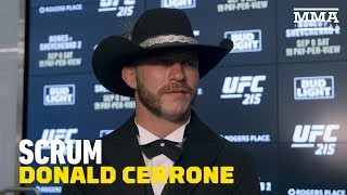 Download Donald Cerrone To Teammate Ray Borg: 'You Should Have Fought' - MMA Fighting Video