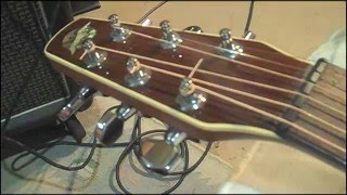 Download EASY Acoustic Guitar Action Improvement - string height Adjustment - simple tools Video