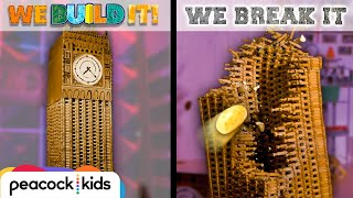 Download Lincoln Log Big Ben vs. Potato Launcher | WE BUILD IT WE BREAK IT Video