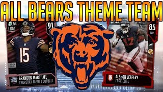 Download Madden 18 Ultimate Team :: All Bears Theme Team! :: Madden 18 Ultimate Team Video