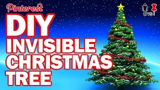 Download DIY Invisible Christmas Tree - Man Vs Pin #103 Video