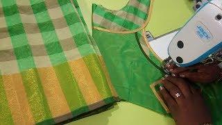 Download Cotton saree model blouse - Easy method Video