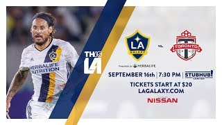 Download TEASER: LA Galaxy vs. Toronto FC | September 16th, 2017 Video