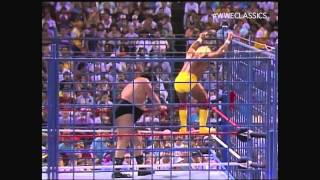 Download WWF (WWE) Wrestlefest, 1988 - Hulk Hogan vs. André the Giant in a Steel Cage Video