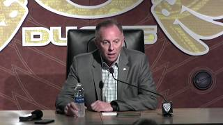Download Oregon AD Rob Mullens discusses Ducks' coaching search Video