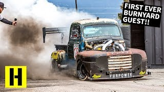 Download 2000 ft-lb Diesel Race Truck Breaks in the New BurnYard!! Old Smokey F1 Returns Video