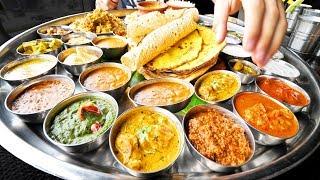 Download Enter CURRY HEAVEN - Mumbai's BIGGEST Thali (38 Items) + BEST Indian Street Food in Mumbai, India! Video