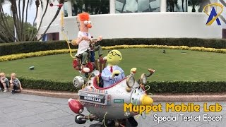 Download Muppet Mobile Lab Returns with Beaker and Dr. Bunsen Honeydew at Epcot Video