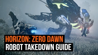 Download Horizon Zero Dawn - Every Robot Dinosaur and how to take them down! Video