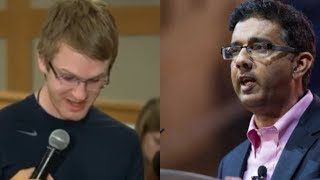 Download Student Tries To CHALLENGE Dinesh D'Souza's Intelligence, Watch How He Responds Video