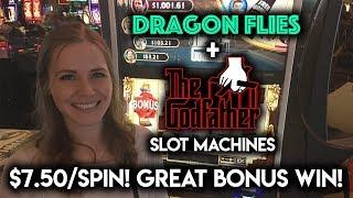Download $7.50/Spin! The NEW Godfather Slot Machine! BONUS!!! Video