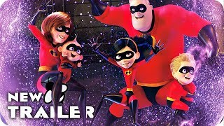 Download Incredibles 2 All Clips & Trailer (2018) Disney Pixar Movie Video