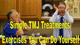Download Simple TMJ Treatments/Exercises You Can Do Yourself To Stop Pain/Clicking In Jaw Video