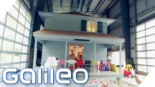Download Diese Familie wohnt in einem kleinen Haus in einem großen Haus | Galileo Lunch Break Video