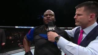 Download Fight Night Halifax: Derrick Lewis Octagon Interview Video