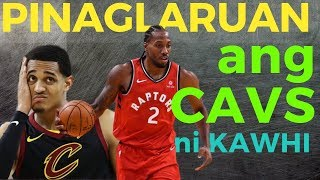 Download Jordan Clarkson & Cavs Pinaglaruan ng Raptors ni Kawhi Video