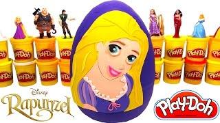 Download Ovo Surpresa Gigante da Rapunzel em Português Brasil de Massinha Play Doh Video