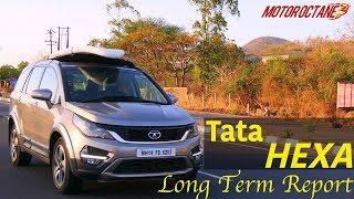 Download Tata Hexa long term report in Hindi   MotorOctane Video