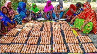 Download 1,000 Eggs Cooking For Whole Village People - You Can't Guess What They Are Cooking Until Finish Video
