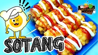 Download Sotang (Sosis Kentang) Fried Sausage with Potatoes! [Eng Subtitle] - Asta And Food Video